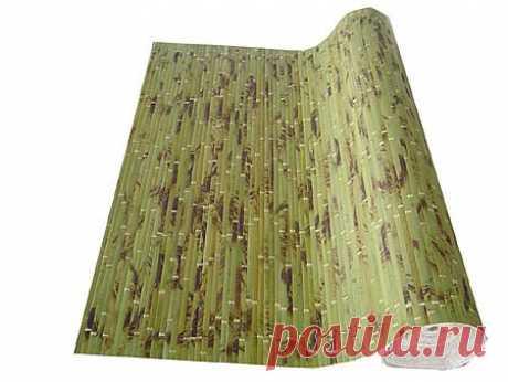 Как правильно клеить бамбуковые обои