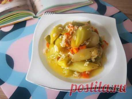 Лук порей с рисом. Zeytinyağlı Pırasa Yemeği Tarifi / Turkish leek dish with rice