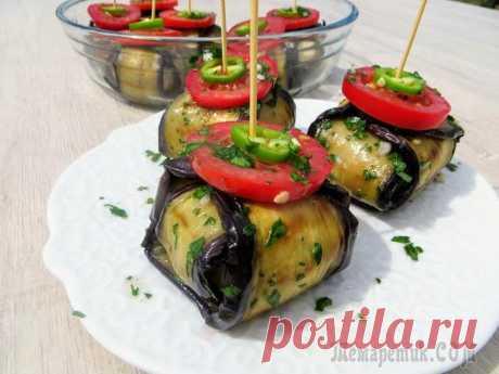 Сметут за минуту! Закуска, которая всех удивит / Eggplant with meat balls Такое блюдо можно подавать, как горячее, либо как закуску. Вкусно будет по любому! Рецепт простой, готовится интересно и получается оригинально. Пробуйте на здоровье, удивляйте всех за столом!Пригот...
