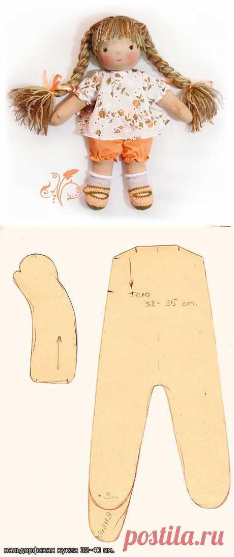 Вальдорфские куклы – своими руками. МК/Ребенок от А до Я семейный портал для родителей и детей (МК найден в Инете)