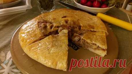 выпекание осетинских пирогов в духовке ГОТОВИМ БЕЗ ХНЫКОВ