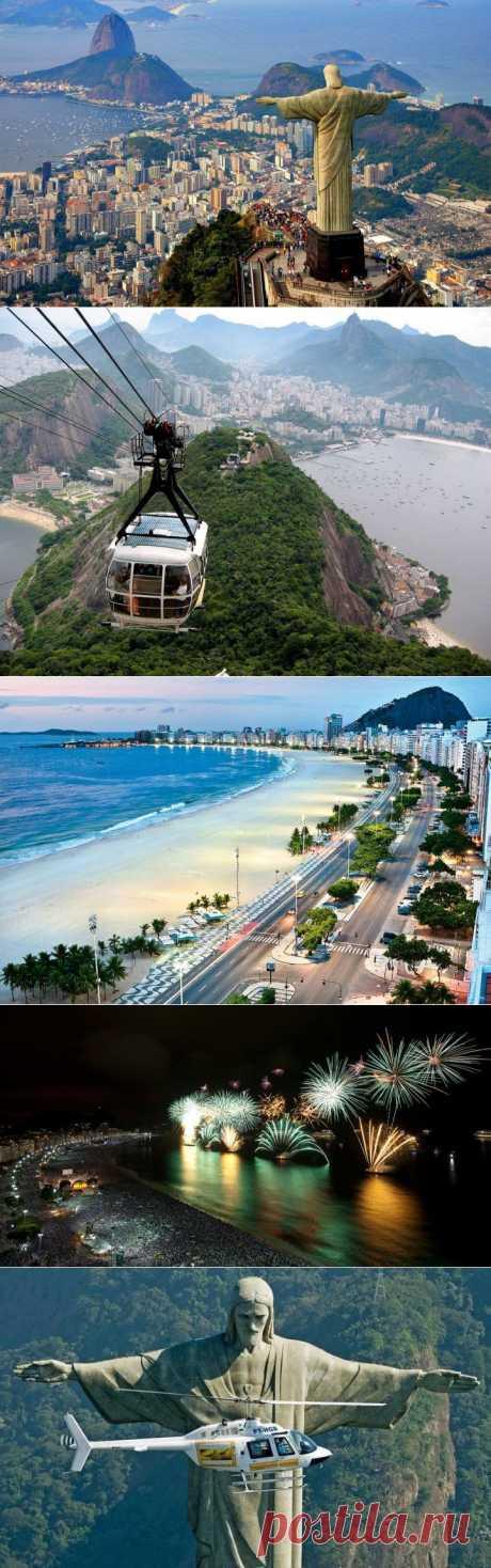 (+1) - Это Рио-де-Жанейро! | УДИВИТЕЛЬНОЕ
