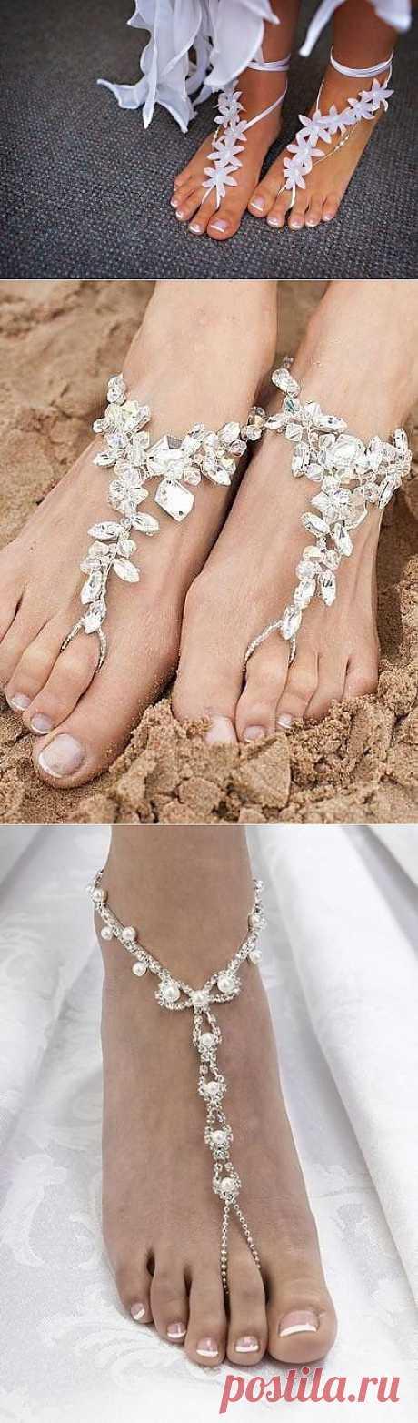 La belleza en el pie