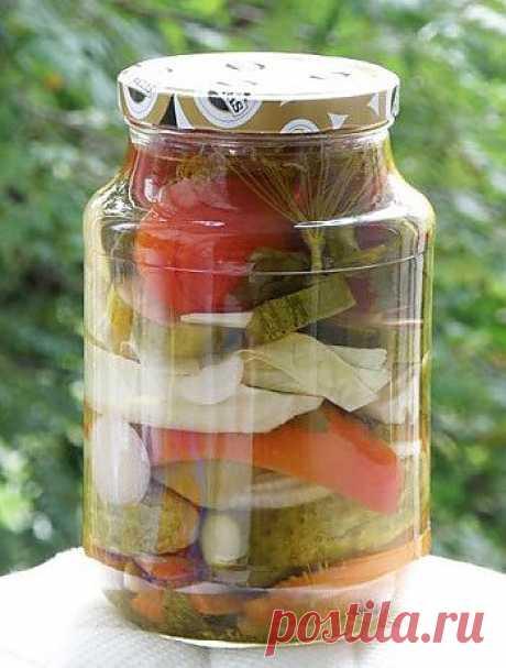 Маринуем дома - Овощи на зиму . 1001 ЕДА вкусные рецепты с фото!