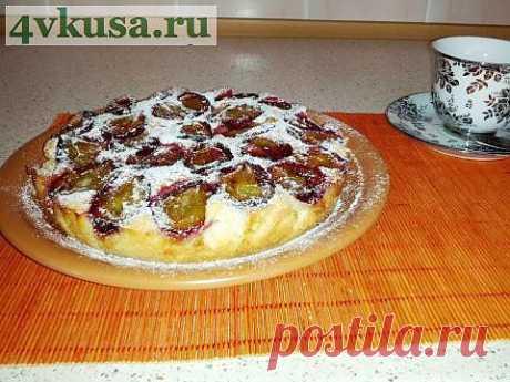 Сливовый пирог | 4vkusa.ru