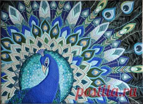 Чудесные лоскутные работы от Анастасии Ярминой