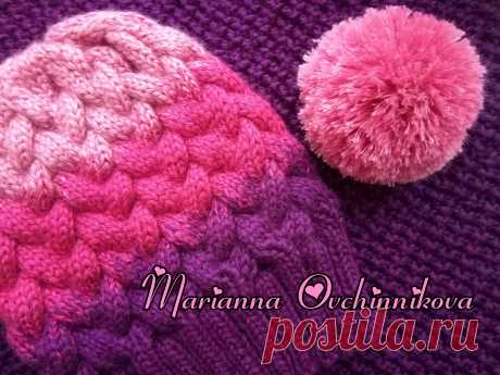 The set is connected from very soft not prickly half-woolen yarn. At desire the cap can be with a pompon or without. Snud is connected in one turn, the soft knitted cloth gently embraces a neck, is beautifully draped, giving heat. \u000d\u000aThe coloring can be chosen any, both monophonic, and combined.