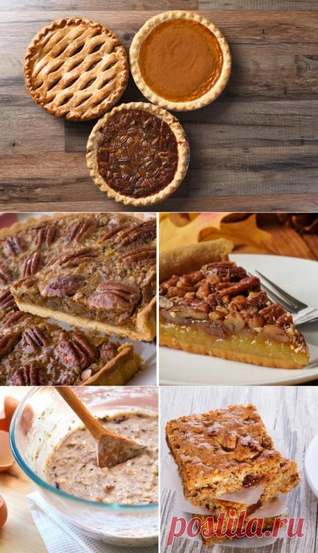 Рецепт пирога с орехами »
