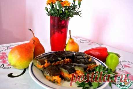 Квашеные баклажаны с овощами Кулинарный рецепт