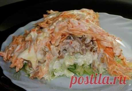 Радуйте полезными блюдами каждый день: Вкусный салат с зелёной редькой