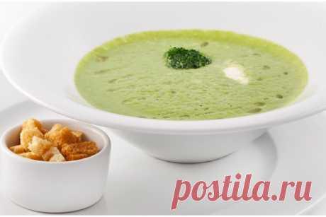 Вкуснейший холодный суп из цукини и огурца