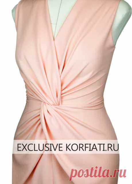 3 выкройки эффектных трикотажных платьев от Анастасии Корфиати | Рукоделие