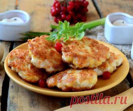 Обалденные котлетки с сыром