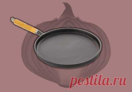 Узнал идеальный способ подготовки чугунной сковороды. Покрытие стало лучше любого тефлона | ТехноГурман | Яндекс Дзен