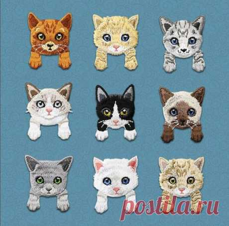 Cat patch, Animal patch, Patches, Patch, Iron on patch, Embroidered patch, Sewn on patch, Patches for jackets, Patches for backpacks, Cute