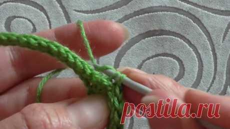 эластичная резинка крючком 1х1 Приветствую любителей рукоделия! Сегодня вяжем образец узора резинка крючком. Узор эластичный, двухсторонний, с аккуратными кромками, внешне очень напоминает...