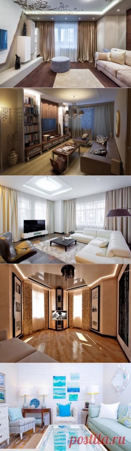 Дизайн маленького зала: как достигнуть гармонии, избежав досадных ошибок