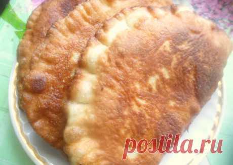 Чебуреки с картофелем из очень вкусного постного теста Автор рецепта Вера - Cookpad