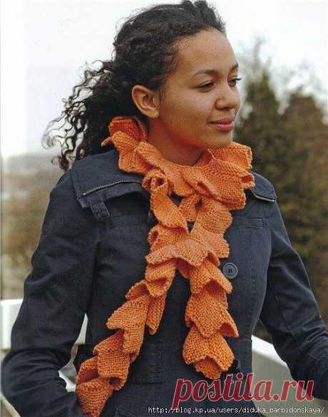 Оранжевый шарф. Автор перевода: дидюка барбидонская
