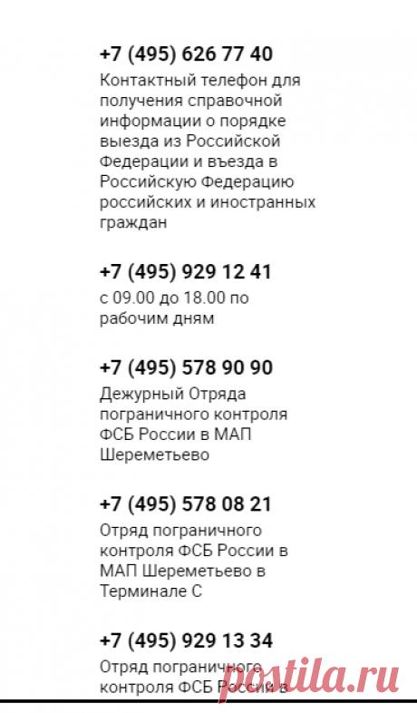 Пограничный контроль / Международный аэропорт Шереметьево
