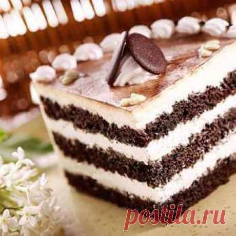 Рецепт домашнего «Черемухового» торта