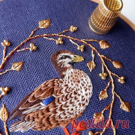 Союз бисера и мулине в работах @faux.embroidery | Мир Вышивки | Яндекс Дзен