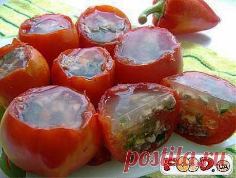 Заливные помидоры - Кулинарные рецепты на... / Еда и напитки / закуски / Pinme.ru / Алла Рыбчинская