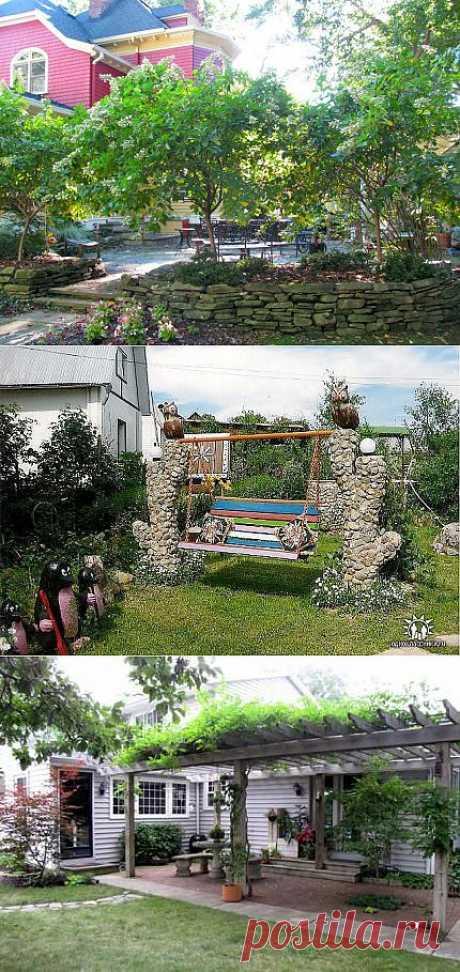 Дизайнерские идеи для дачи и сада-2.