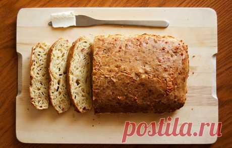 Рецепт домашнего сырного хлеба - восхитительный вкус!