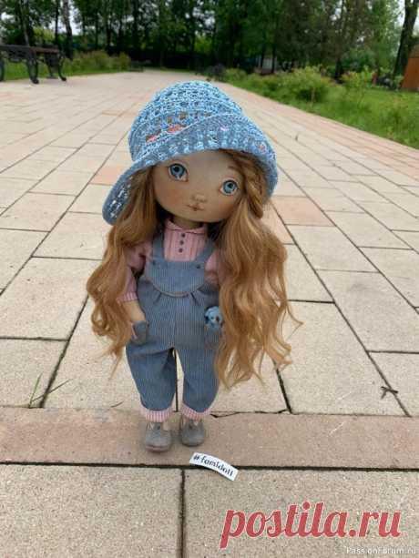 Чердачная кукла. | Разнообразные игрушки ручной работы