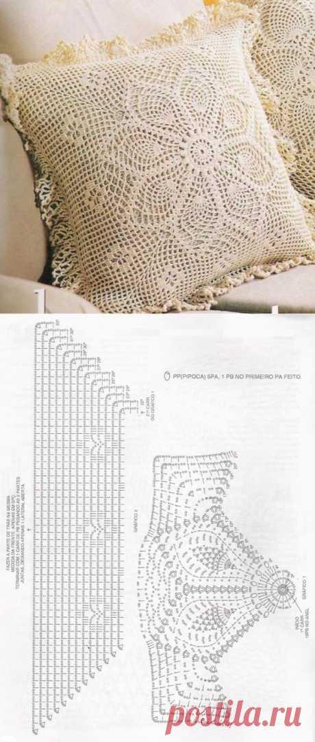 мотив для подушек