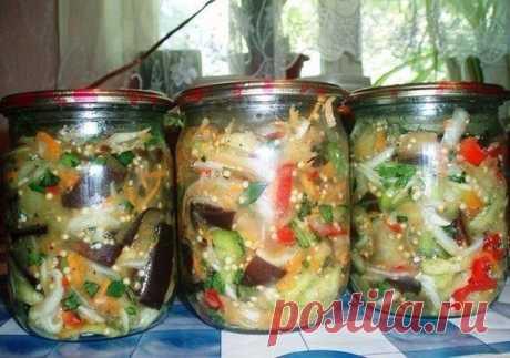 Погребок закаток в Instagram: «Закуска острая с баклажанами. Для такого салата нам нужны: синие- 2,5 кг ; перец салатный разноцветный- 1-1,5кг ( у меня…»