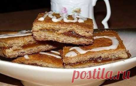 (55) Вкусные рецепты - Тульские пряники