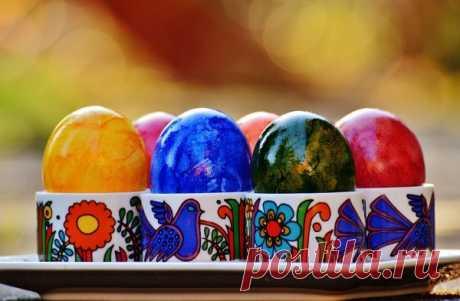5 необычных способов покрасить яйца (+видео)   Православие и мир