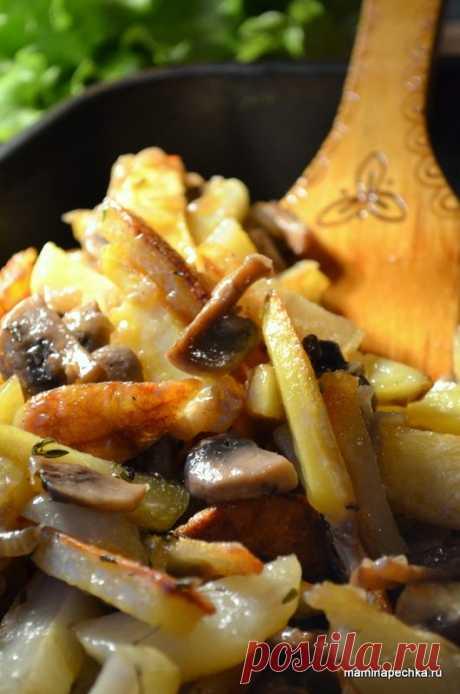 Грибная поджарка - как правильно готовить