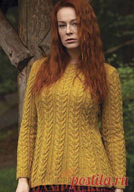 Вязаный свитер «Arran» | DAMские PALьчики. ru