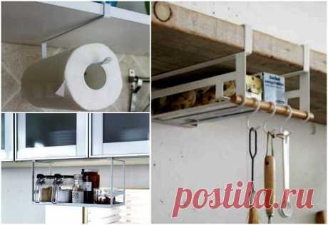 Хитрые системы хранения, которые должны быть на каждой кухне.