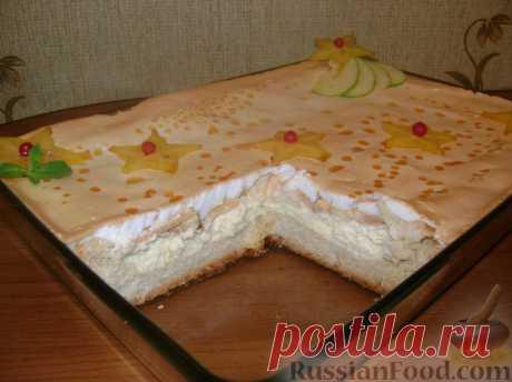 Королевский пирог (с яблоками и творогом). Мастер-класс.