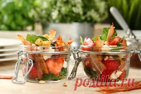 Салат из шпината с беконом – пошаговый рецепт с фото.