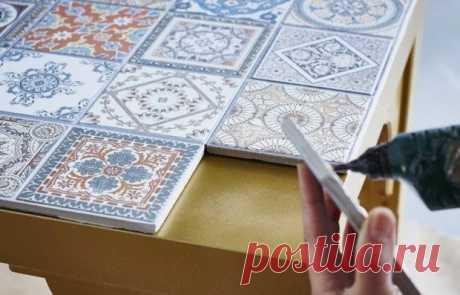 Что еще можно сделать с плиткой:10 блестящих идей декора | Свежие идеи дизайна интерьеров, декора, архитектуры на INMYROOM