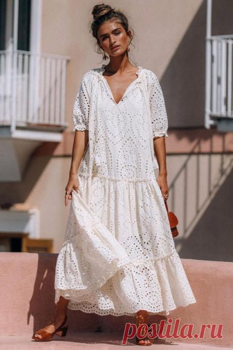 Стильные модели свободных платьев для летних образов 2020 | Fashion girls | Яндекс Дзен