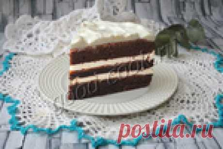 "Торт ""Шоколадно-абрикосовая вкусняшка"""