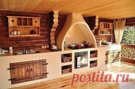 Летняя кухня - мечта!