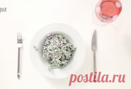 Салат из красной фасоли с творожным сыром, красным луком и сезонным салатом пошаговый рецепт с видео и фото – итальянская кухня: салаты
