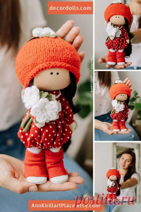 Tilda Cloth Doll Nursery Soft Doll Interior Decoration Doll | Etsy