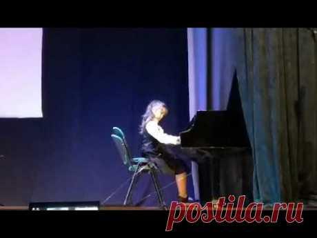 Карл Черні Етюд №28 - Марія Івахненко (Девічки) - YouTube