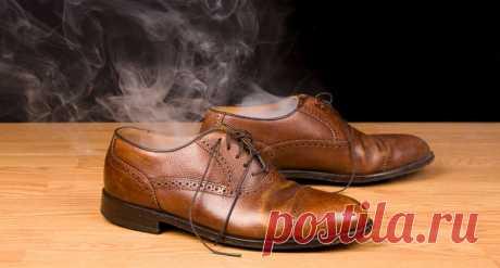 7 простых способов избавить обувь от неприятного запаха