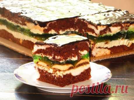 Торт «Глаза царицы» Безумно вкусный десерт.