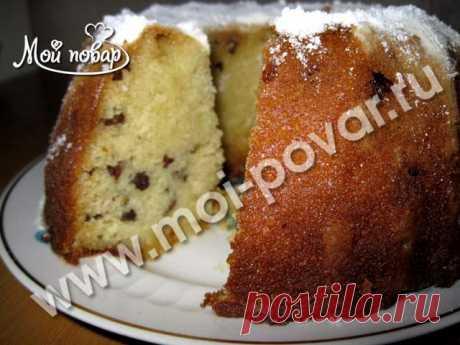 Манник с изюмом   Выпечка и десерты - рецепты с фото
