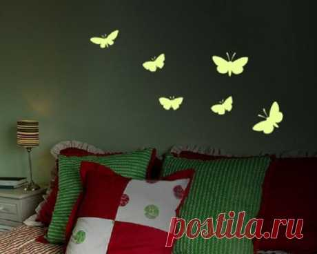 WE DO THE SHINING BUTTERFLIES ON THE WALL